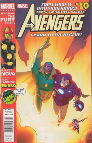 The Avengers Earth's Mightiest Heroes Comic # 10