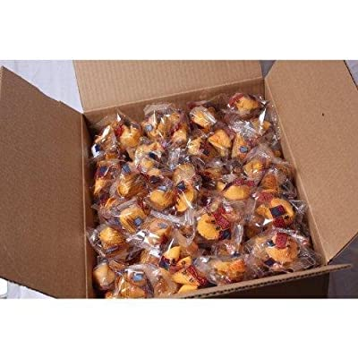 100 Pcs Fortune Cookies Fresh Single Wrap(golden Bowl) by golden bowl