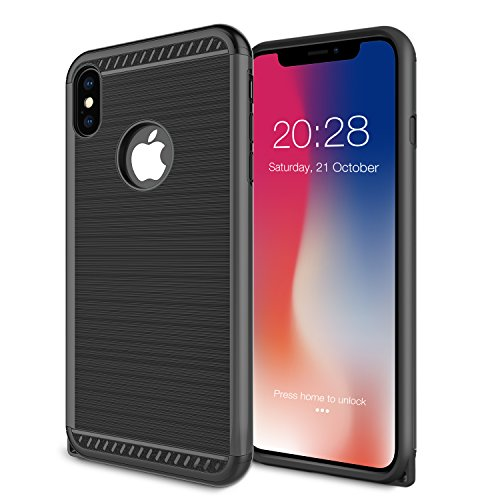 iPhone X Case, Typesee Shockproof Full Protective Anti-Scratch Resistant of Heavy Duty Dual Layer Rugged Case for Apple iPhone X
