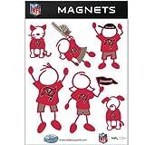 NFL Tampa Bay Buccaneers Family Magnet Set