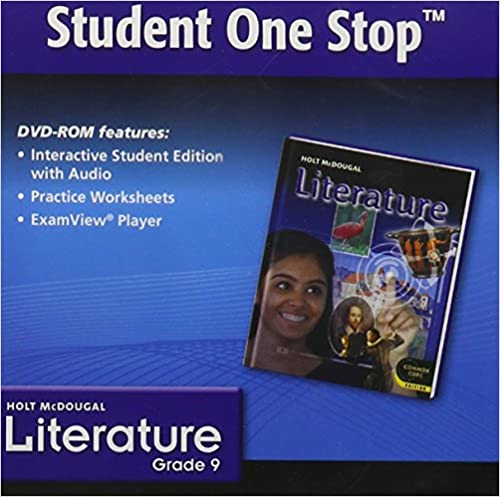 Holt McDougal Literature: Student One Stop DVD Grade 9 2012: HOLT ...