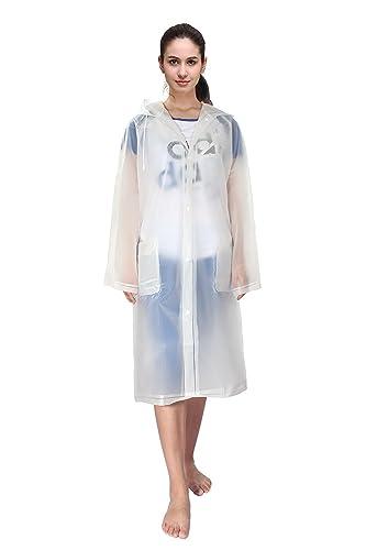 Outry - Abrigo impermeable - para mujer