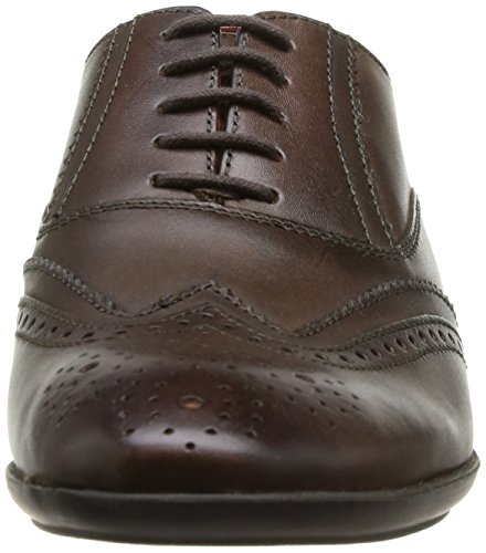 Base London Governor - Zapatos de Cordones de cuero hombre marrón - Marron (Burnished Brown)