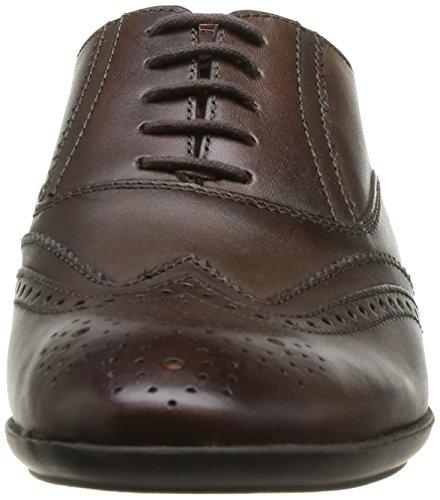 Base London Governor - Zapatos de Cordones de Cuero para Hombre Beige Beige (Burnished Tan) 46 2I3oQuA