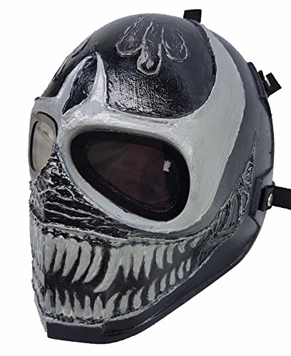 Venom Face Paint Costume (Airsoft Full Face Mask Army of two Cosplay Halloween mask Paintball VENOM Ghost)