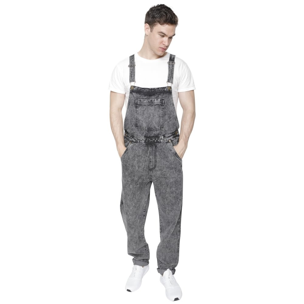 Island Trading Mens Denim Dungarees Dungaree Jeans Bib Overalls