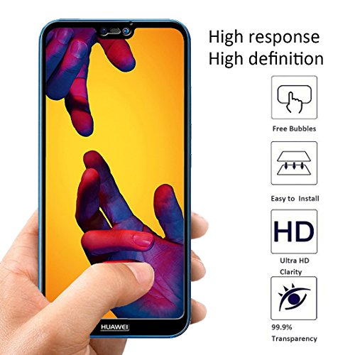 low-cost [2 Pack] Orzero For Huawei P20 Lite Tempered Glass
