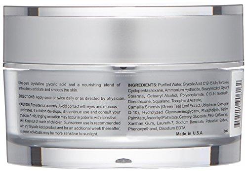 Glycolix Elite 20% Glycolic Acid  Facial Cream , 1.6 oz