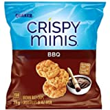 QUAKER CRISPY MINIS Gluten-Free BBQ Flavour Rice Chips, 33 g (Pack of 32)