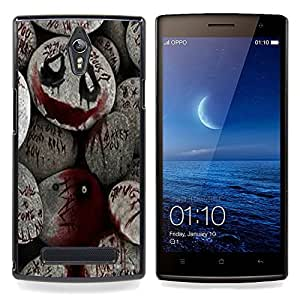 Planetar ( De Halloween Monster Blood Spooky Pumpkin ) OPPO Find 7 X9077 X9007 Fundas Cover Cubre Hard Case Cover