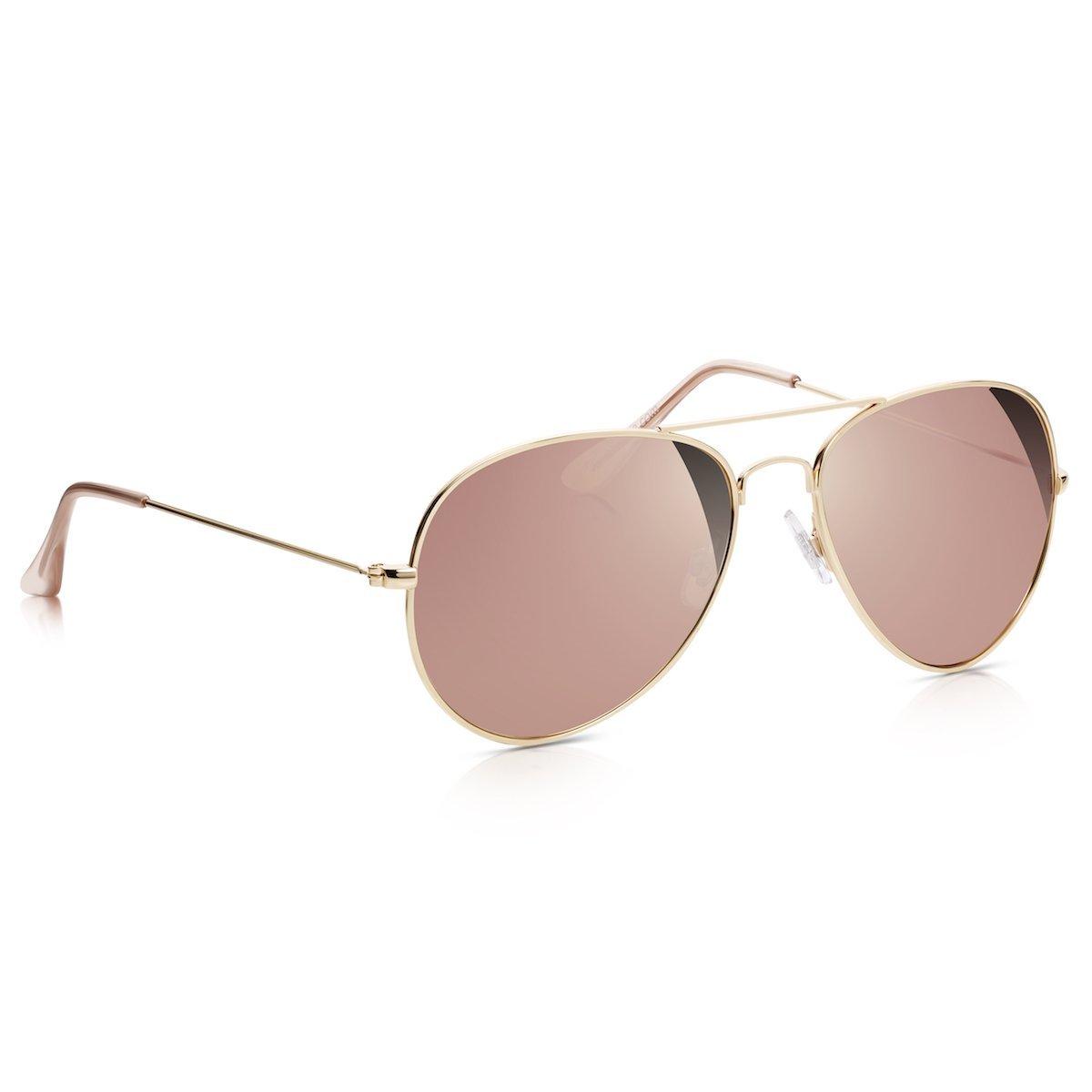 Sunglass Junkie Lunettes de Soleil Top Gun Aviator unisexes couleur or rose  avec verres or roses effet miroir  Amazon.fr  Vêtements et accessoires 99b43fd15ba3