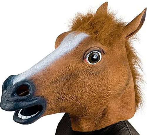 Monstleo  Horse Animal Head Mask Halloween Party Costume Decorations