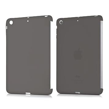 kwmobile Funda inteligente para Apple iPad Mini 2 / iPad Mini 3 - Carcasa [trasera] de [TPU] para tablet en [negro]
