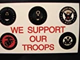 WE SUPPORT OUR TROOPS 3X5 Flag