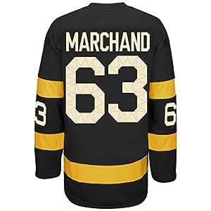Amazon.com : Men's Boston Bruins Brad Marchand #63 Black