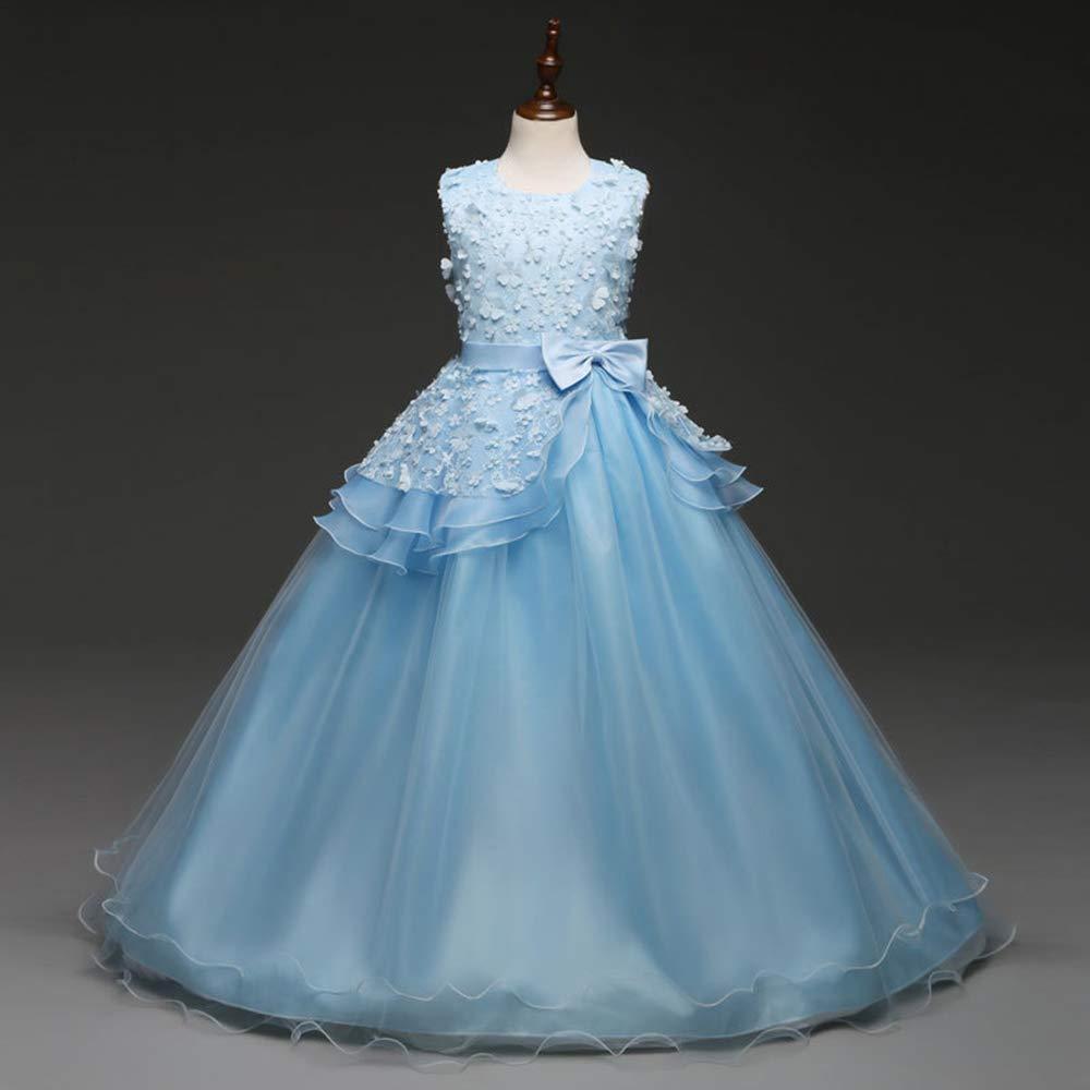 V1 Clothing CO Vestidos de Princesa para niñas Vestidos Batas para niños, Juegos de rol actuaciones de Piano de Escenario, Vestidos de Boda para niños de 3 ...