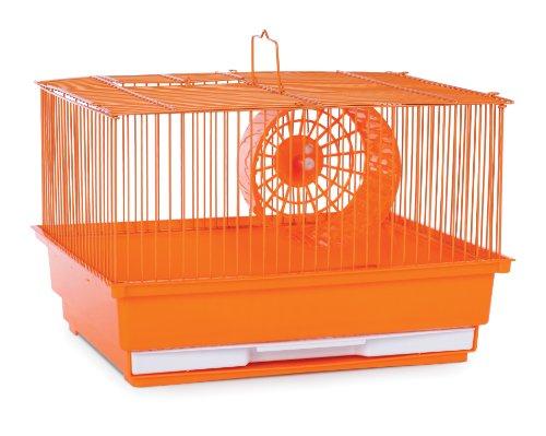 Prevue Hendryx Single Story Hamster Gerbil Pet Cage Orange