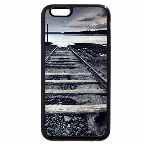 iPhone 6S / iPhone 6 Case (Black) Track To Nowhere