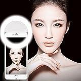 Selfie Ring Fill Light, Pinron 36 Build-in LEDs Portable Pocket Spotlight Enhancing Smartphone Camera Photography Flashlight 3 Adjustable Brightness Supplementary For Iphone Smartphones/Tablets