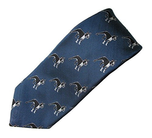Boston Terrier Tie (Men's Dog Breed Neck Tie)