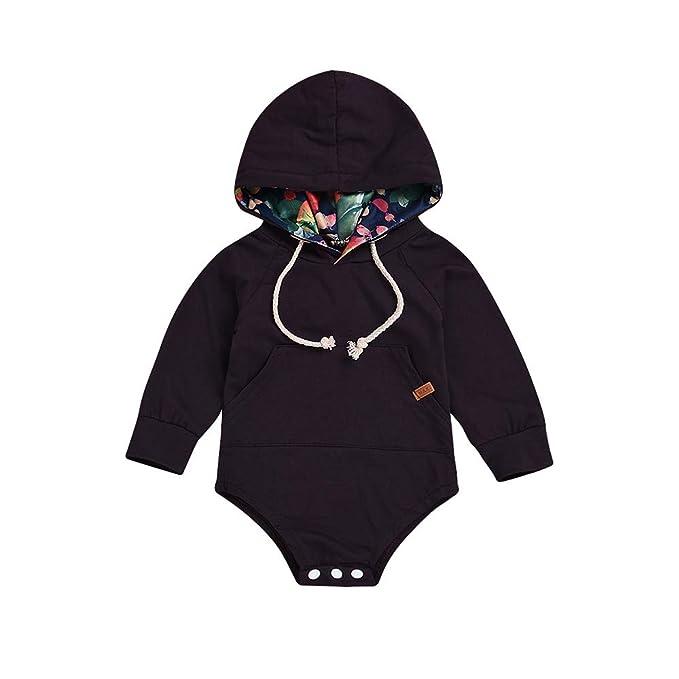 Monos para Bebe Niños Manga Largas Otoño 2018 PAOLIAN Ropa de Peleles Bodies Invierno Recien Nacidos