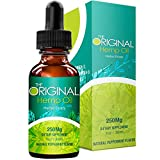 Facial Pain In Dogs - The Original Hemp Oil - Full Spectrum - Premium Organic - Pain Relief - Better Sleep - Stress and Anxiety Relief -Hemp Seed Oil -Mint Flavor -250mg - 1Oz.