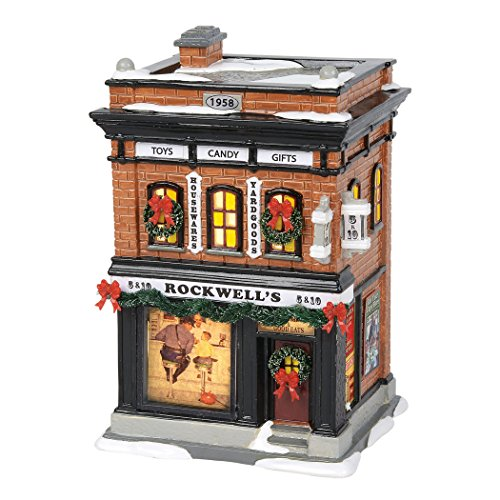 Department56 Original Snow Village Norman Rockwell