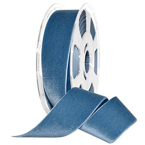 Morex Ribbon 01240/10-536 Nylvalour Velvet Ribbon, 1 1/2