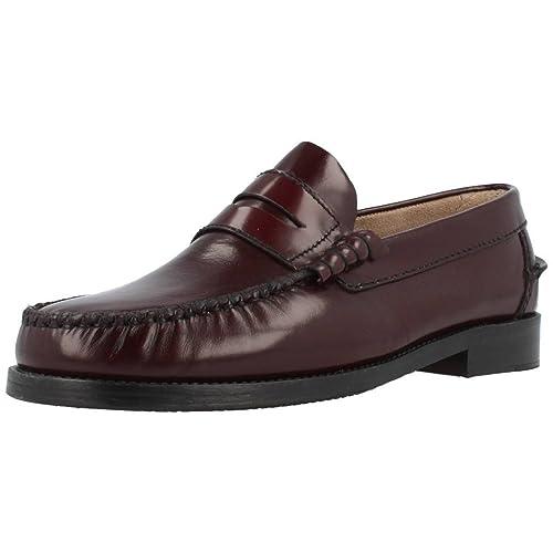 Mocasines para Hombre, Color Rojo, Marca FLEXIMAX, Modelo Mocasines para Hombre FLEXIMAX 7000 Rojo: Amazon.es: Zapatos y complementos