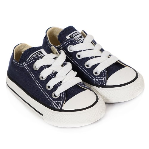 Converse Chuck Taylor All Star, Zapatillas de Lona Infantil azul marino