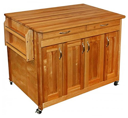 - Catskill Craftsmen Butcher Block Workcenter PLUS