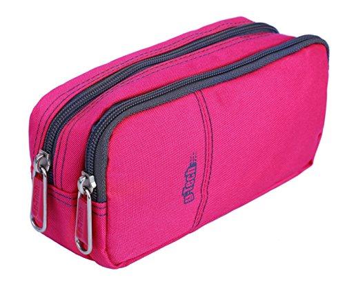 3 Pocket Pencil Case For Girls - 3