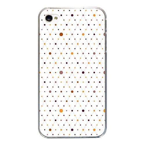 """Disagu SF-sdi-3815_1175#zub_cc3300 Design Schutzhülle für Apple iPhone 4S - Motiv """"Bunte Punkte 02"""""""