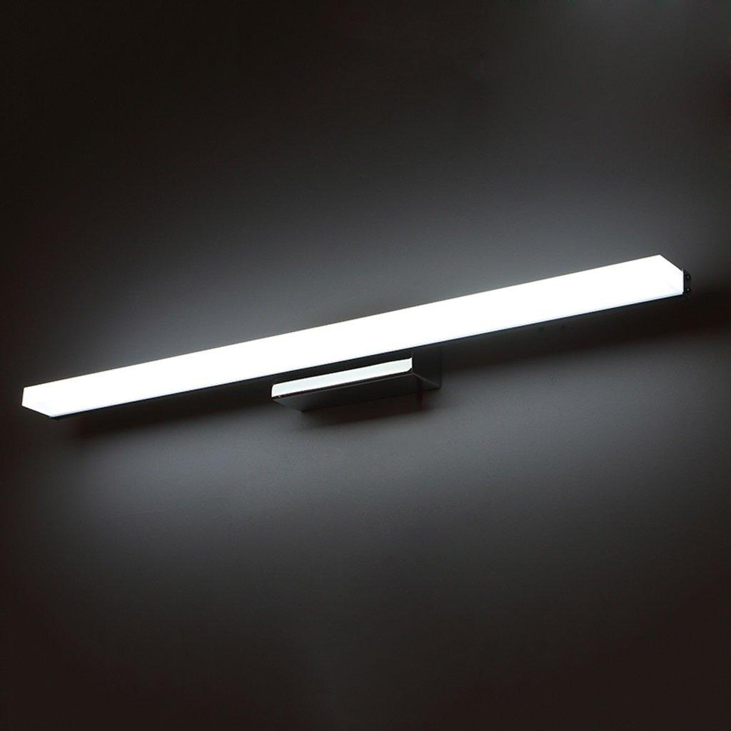 LED, Mirror Light, Waterproof Mirror Light, Anti-fog Mirror Cabinet Light, Aluminum Alloy Acrylic Bathroom Light (Size : L40cm white light)