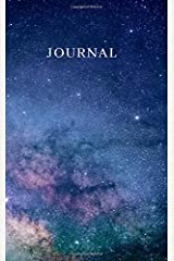Journal: Inner (G) companion universe journal. 300 blank lined pages. Therapeutic writing journal for meditation and relieving anxiety Paperback