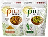 Sprouted Pili Nuts, Turmeric Blend & Ranch Sampler, 1.7 oz each
