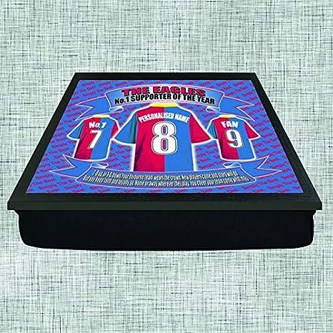 Crystal Palace Football Shirt Personalised Lap Tray Gift