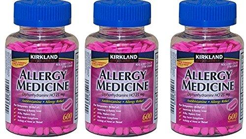 Kirkland Diphenhydramine AntihistamineCompare Ingredient Benadryl%C3%82