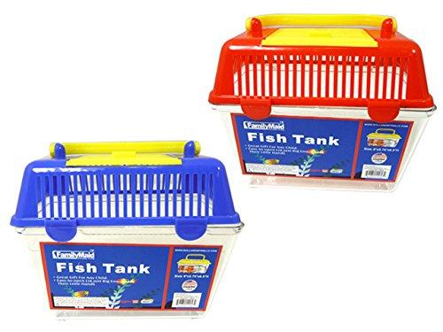 FISH TANK 6X3.75X6.5'' H 2ASST , Case of 72 by DollarItemDirect