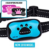 Guarantee2U - Bark Collar Small Dog, Anti Barking Device, Petsafe Training no Shock or Citronella. Collars Control Dogs To Stop with Automatic Vibration, Beep. Deterrent is Waterproof Safe and Humane