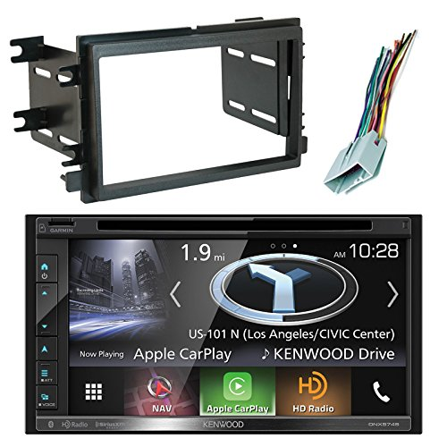 Kenwood DNX574S Resistive Panel Navigation Double-DIN DVD CD