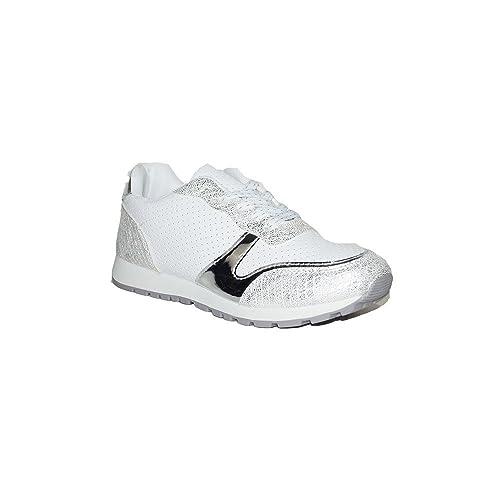 PRIMAR SHOES - Zapatilla Leticia GB-720 Zapatillas Deportivas de Mujer Moda 2018 Deporte para Mujer Color Blanco Rosa: Amazon.es: Zapatos y complementos