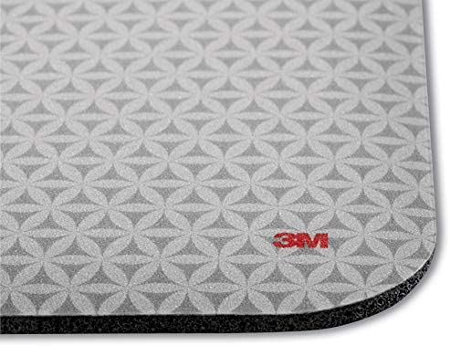 3M Precise Mouse Pad Enhances the Precision of Optical Mice at Fast Speeds and Extends the Battery Life of Wireless Mice as much as Fifty Percent, Easy to Clean, Stays in Place, 9 in x 8 in (MP114-BSD1)