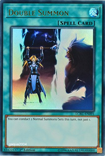 Yugioh Double Summon - LCKC-EN091 - Ultra Rare - 1st Edition Legendary Collection Kaiba Mega Pack (Ssa Collection)