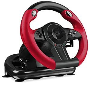 Speedlink SL-250500-BK Trailblazer Racing Wheel Gaming Lenkrad Für Xbox One, PS4, PS3 Schwarz [Importación Alemana]