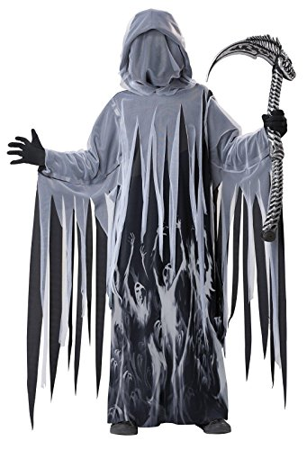 Soul Taker Grim Reaper Costume Child Medium (Reaper Costume Girl)