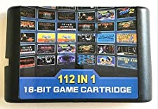 DODOING 112 in 1 Game Cartridge 16 Bit MD Game Card for Sega Mega Drive for Sega Genesis
