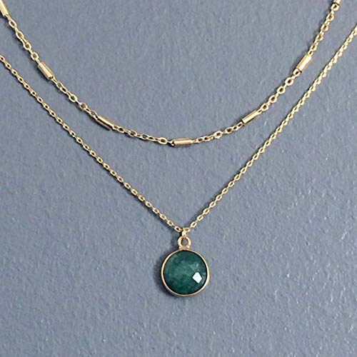 d9a853a017a28 Amazon.com: WAS $39.00 - RM JEWELRY STUDIO - layered, natural ...