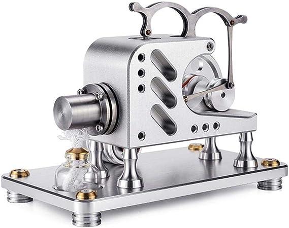 PQXOER Modelo de Motor Stirling Juguete Experimento Balance de ...