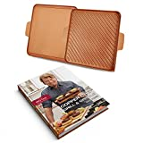 Tristar Products CCGGB Chef Grill & Griddle Hard Cover Cook Book, 12'', Copper